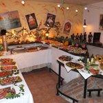 Das super Vorspeisenbuffet