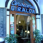 Bar Giralda...loved the location and the food!