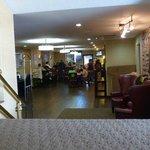 Lobby & Frühstücksraum