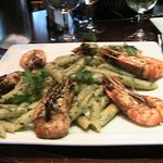 Prawns with Penne Pasta