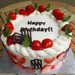 Strawberry and Cream cake - Pour les Gourmands!