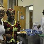 Mama Africa Rotherham being served by Zanzibar chef
