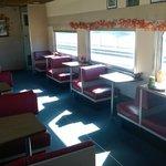 The Pullman dining car.