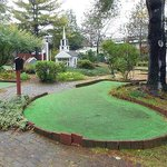 "This is the abandoned miniature golf area -- billed as ""golf course on the grounds"""