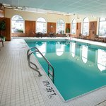 Indoor and outdoor seasonal swimming pools