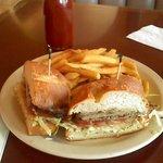 Carne Asada Sandwich; lunch @ Beachbreak Cafe