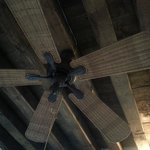Marcello room: beautiful celing and fan