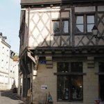 One of the older buildings in Chinon