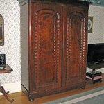 Premier Suite--armoir closet