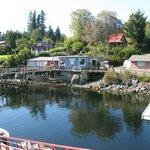 Bamfield West dock