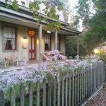 Newbury front porch