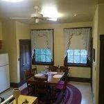 Newbury house dining area/kitchen