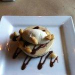 Hazelnut and banana cheesecake, awesome!!