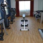 Das, kleine, Fitneß-Center