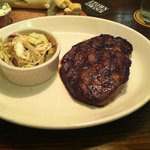 Rib Eye Steak and Slaw