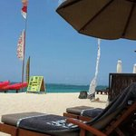 beach club private at pantai geger