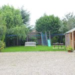 Back of House  play area for children.