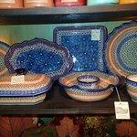 cute pottery in shop