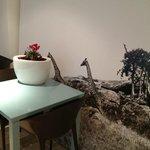 dinning area mural - cool - ultra modern - super clean