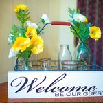 Welcome: Be Our Guest