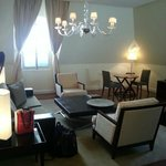 Palace Suite Sitting Area
