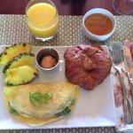 Melanie's breakfast!