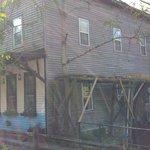 Old Mill Inn water wheel