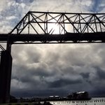 Short walk from the hotel to the stunning Astoria-Megler bridge