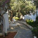 The garden of Palatia Village