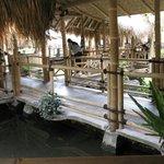Boyong Kalegan way between the hut