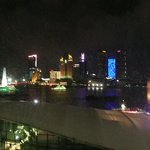 view from room across Bund
