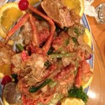 really tasty tonite!! The lobster is really cheap and very fresh tonite! Really good chief there