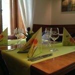 Une table printanière au Restaurant de l'Aigle