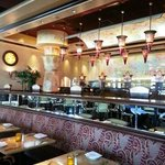 Cheesecake factory freehold inside the restaurant