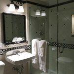 Lovely bathrooms with nice shampoos, etc