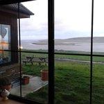 The ocean from the Castlehill living room