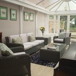 Relax in our conservatory