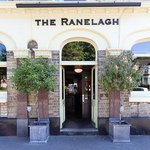 Outside the Ranelagh pub in Bounds Green, London
