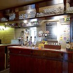 Inside the Royal Oak pub in Oxford