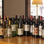 甲州ワイン勢ぞろい