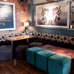 Inside the Trafalgar pub in Chelsea, London