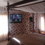 "Four Poster Bed Room with Sea View, Bar Fridge & 42"" TV"