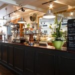 Inside the White Horse Hotel pub in Haslemere
