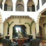 Hotel central couryard