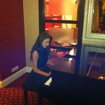 Piano in the lobby