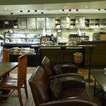 Starbucks on Memorial Rd. Seating Area