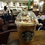 Frappuccino drink at Starbucks