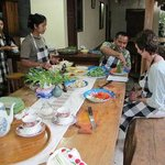 Cooking class with Dewa and Jero