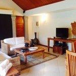 villa lounge area