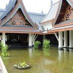 La struttura a pagoda della Hall